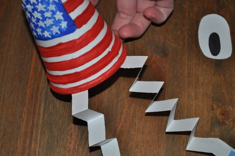 independence day cup craft