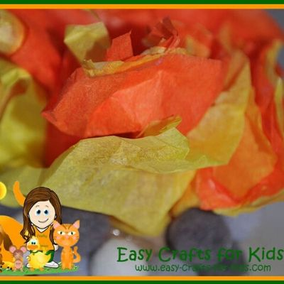 camping craft for kids