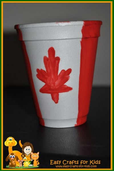 Canada Craft With Paper Cups
