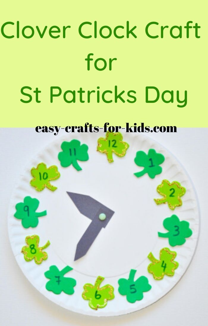Easy Clover Craft