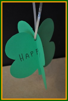 Four Leaf Clover Mobile Craft
