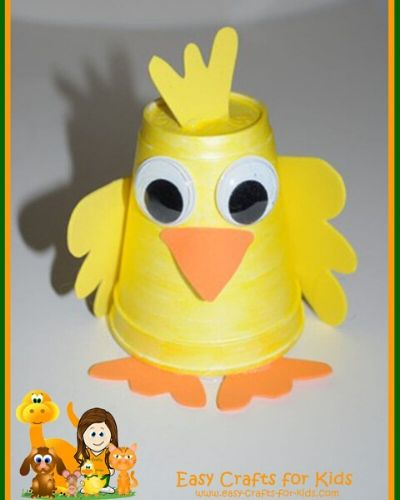 Duckling Craft for Kids