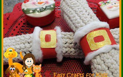diy christmas napkin rings