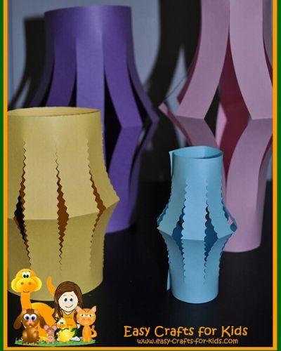 easy paper lantern crafts