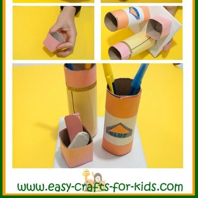easy pencil holder craft