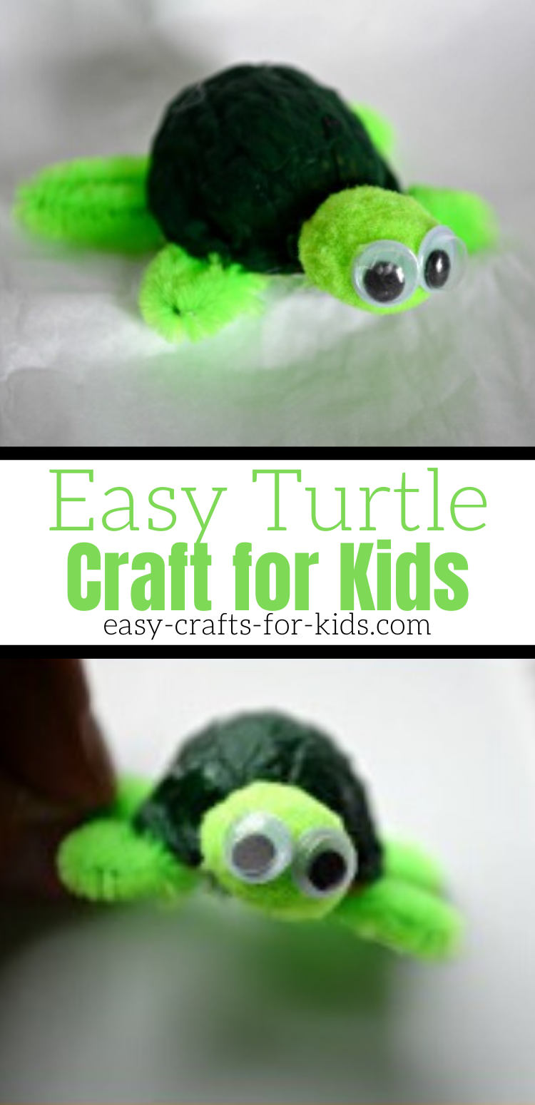 easy turtle craft for kids