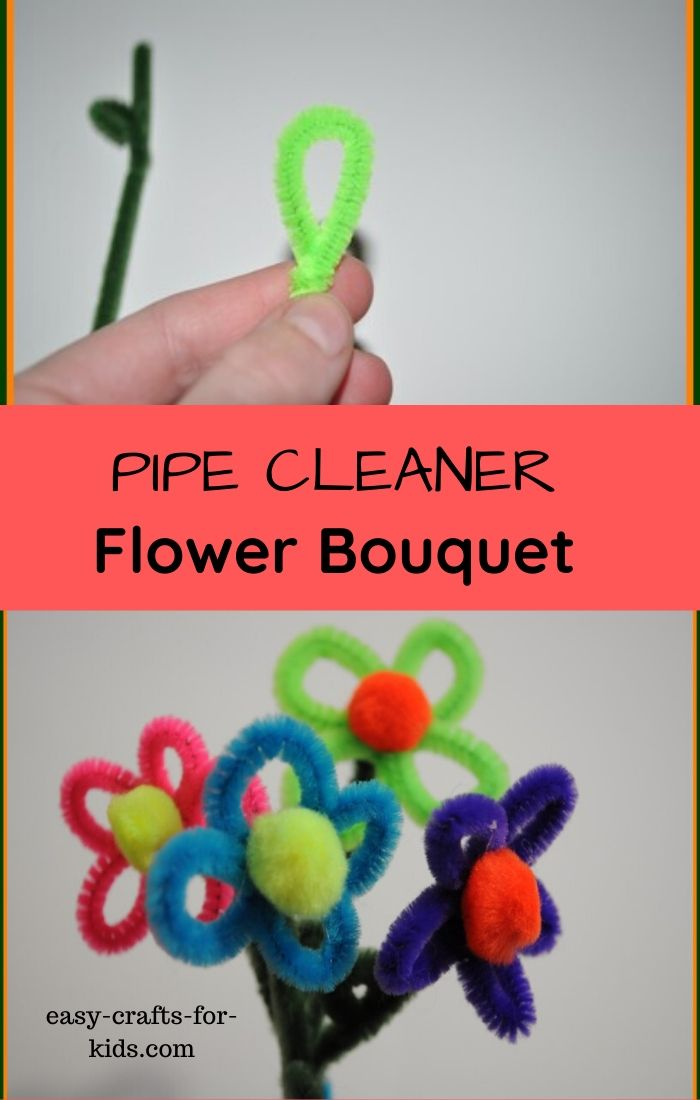 flower pipe cleaner craft