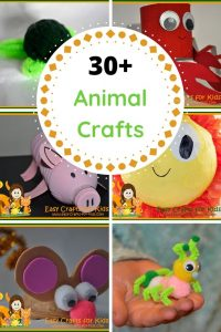 free animal crafts