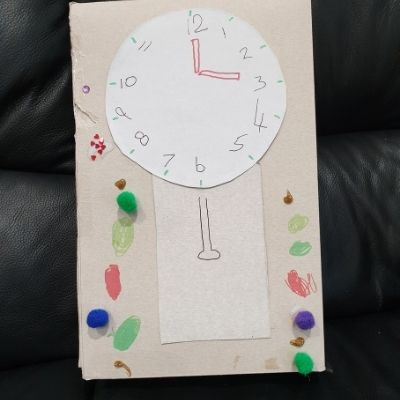 grandfather clock craft