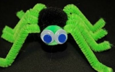 halloween crafts with pipe cleaners