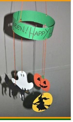 halloween mobile homemade halloween crafts