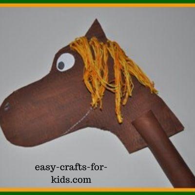 horse paper craft