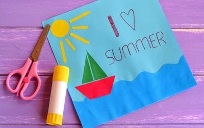 I love summer - paper craft