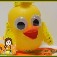 Kinder Duck Craft For Kids