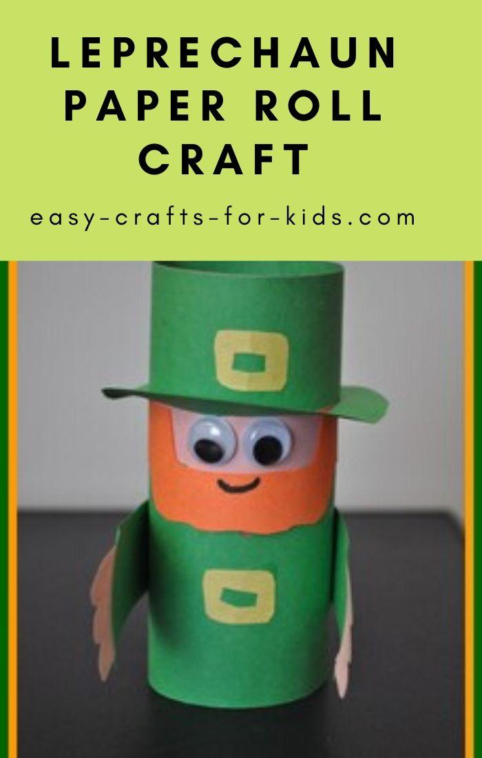 leprechaun craft for kids