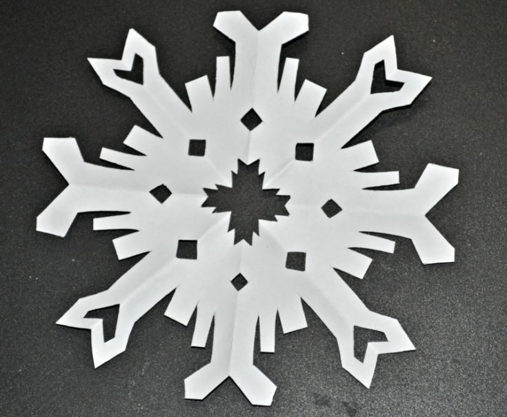 Snowflake Paper Craft