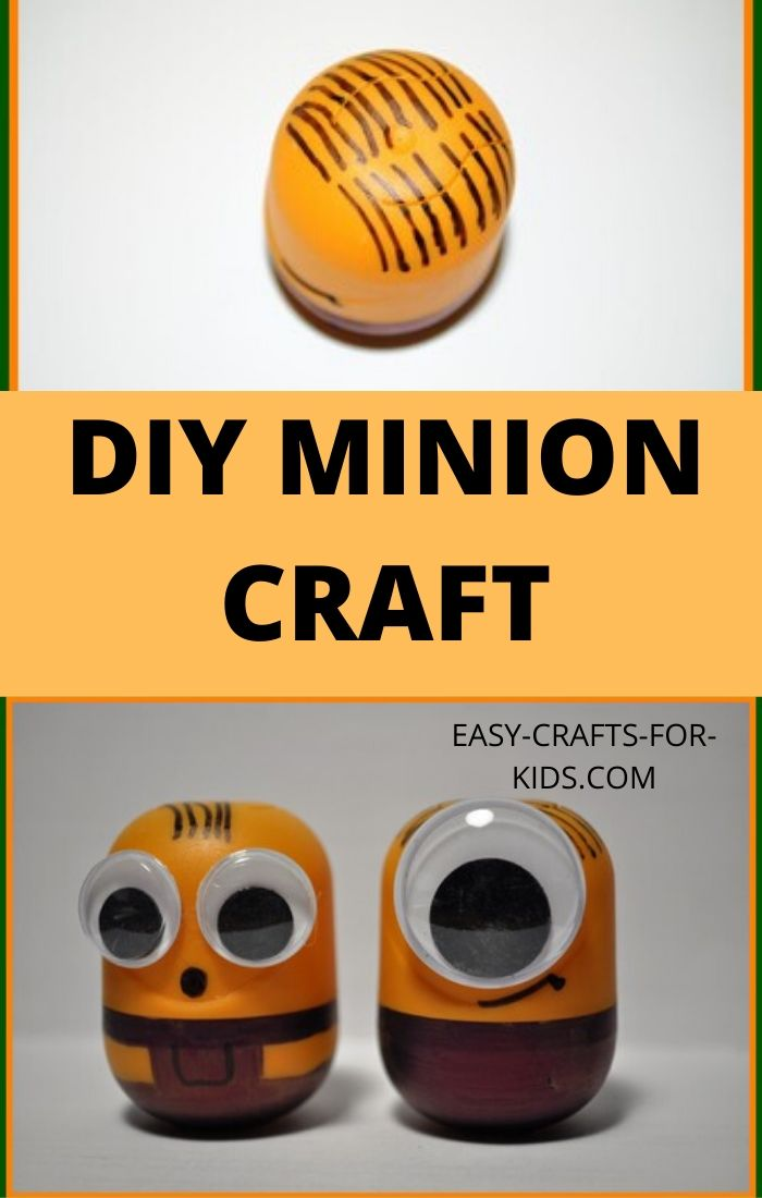 minion crafts ideas