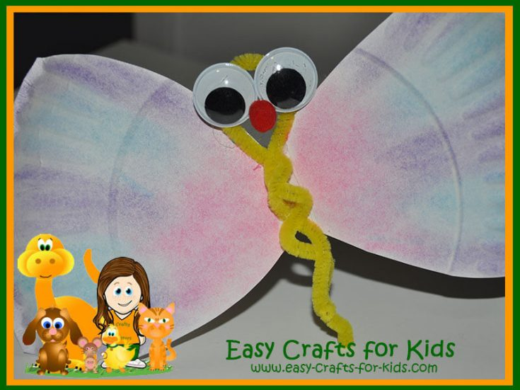 Butterfly Paper Plate Craft for Kids