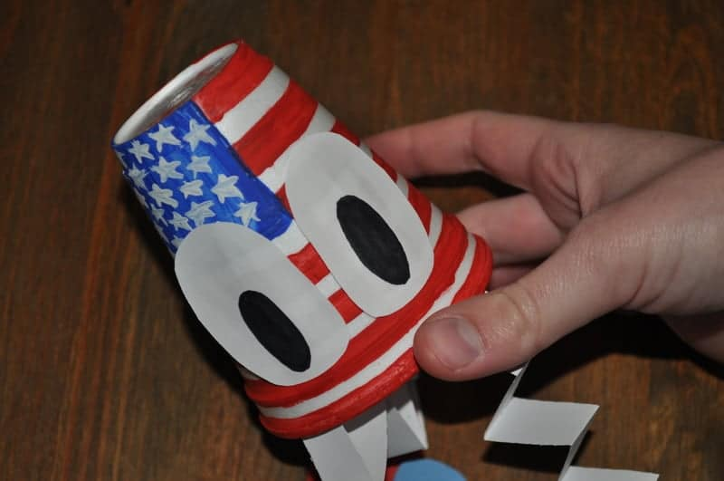 Patriotic cup craft
