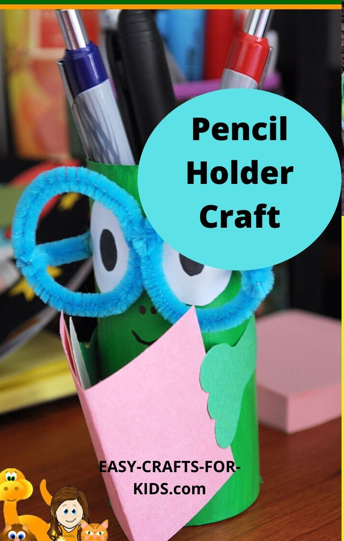 pencil holder craft
