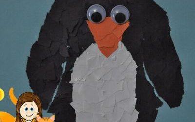 penguin craft for preschool