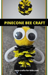 pinecone craft for kids