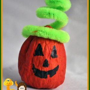 pumpkin crafts with walnuts