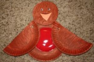 robin red breast craft