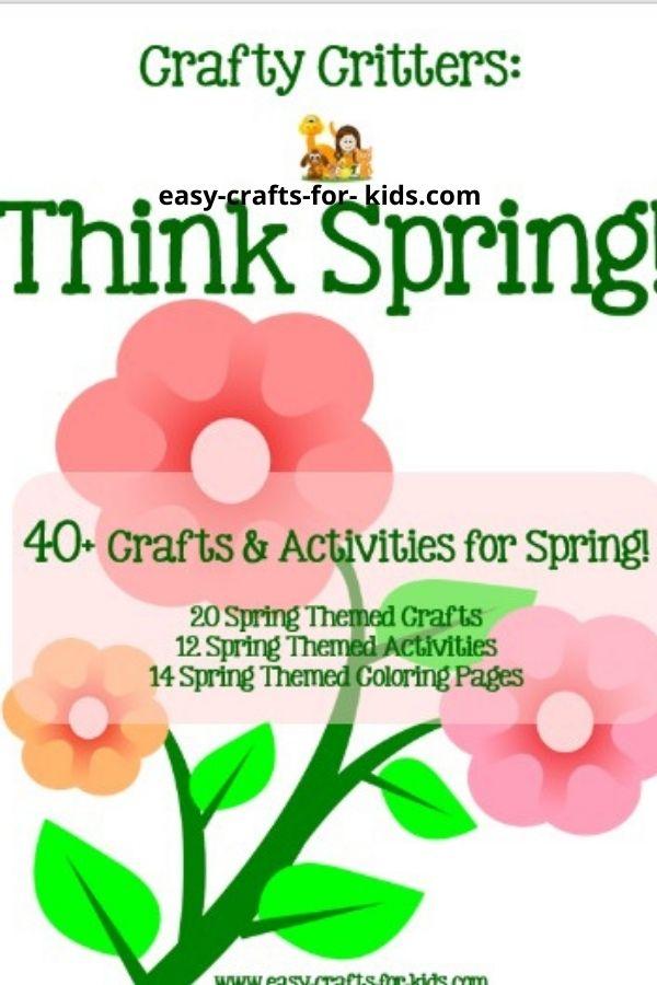 spring activities for kids ebook