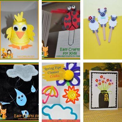 spring kids craft ideas