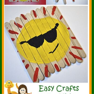 summer popsicle stick crafts