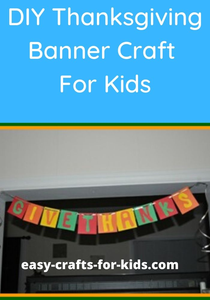 thanksgiving banner for kids