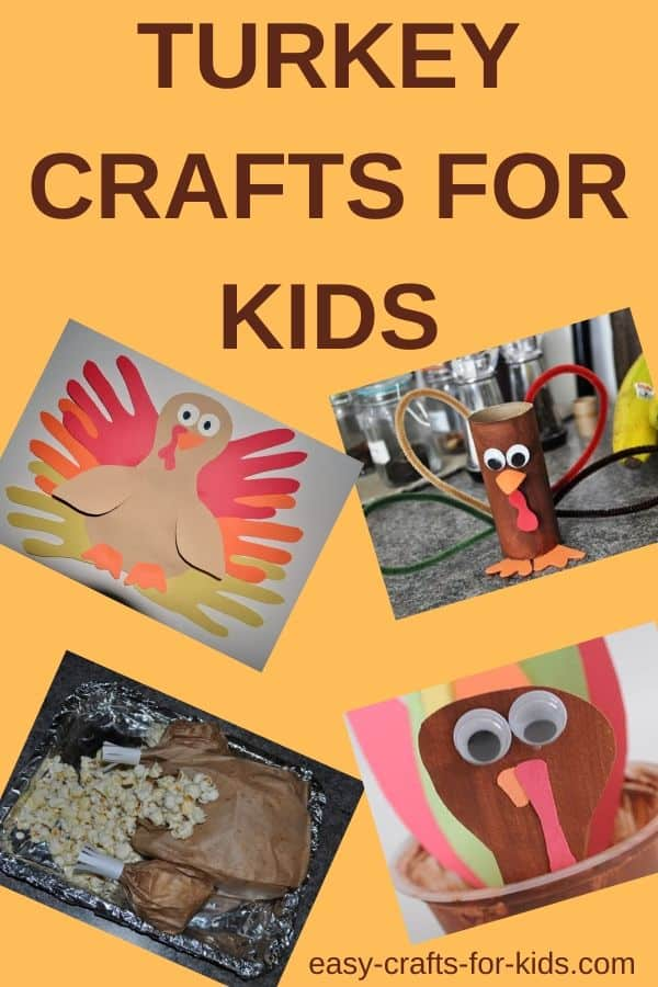 Turkey crafts for kids #Thanksgiving #thanksgivingcrafts #crafts #craftsforkids