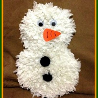 tissue paper craft for christmas