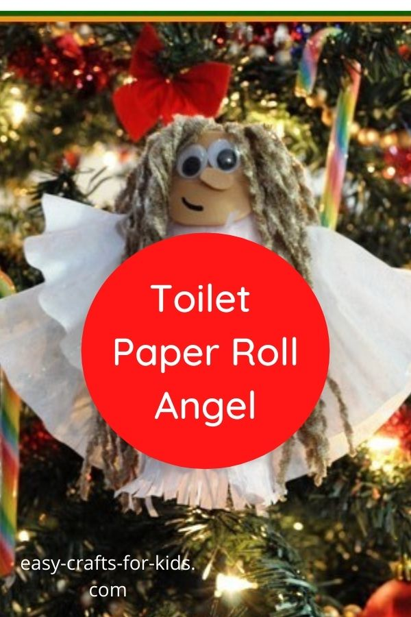 toilet paper roll angels