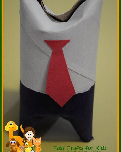 toilet paper roll crafts for father's day