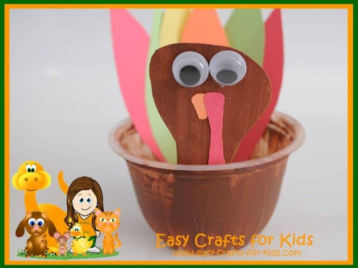 Fruit Cup Turkey Appetizer Holder