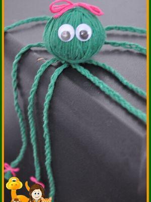 Yarn Octopus Craft