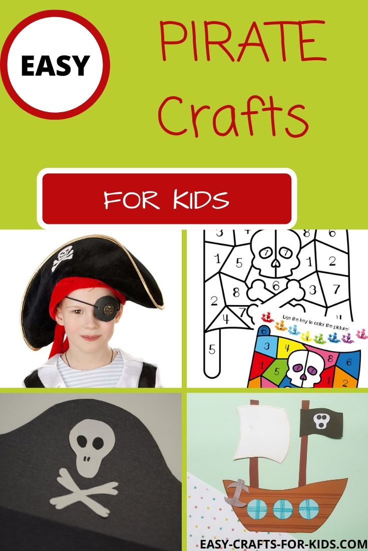 easy pirate crafts