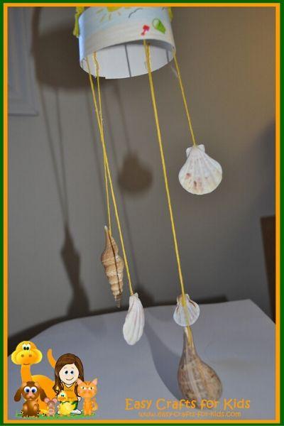 seashell wind chimes