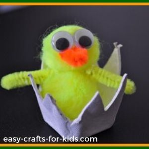 spring chick craft