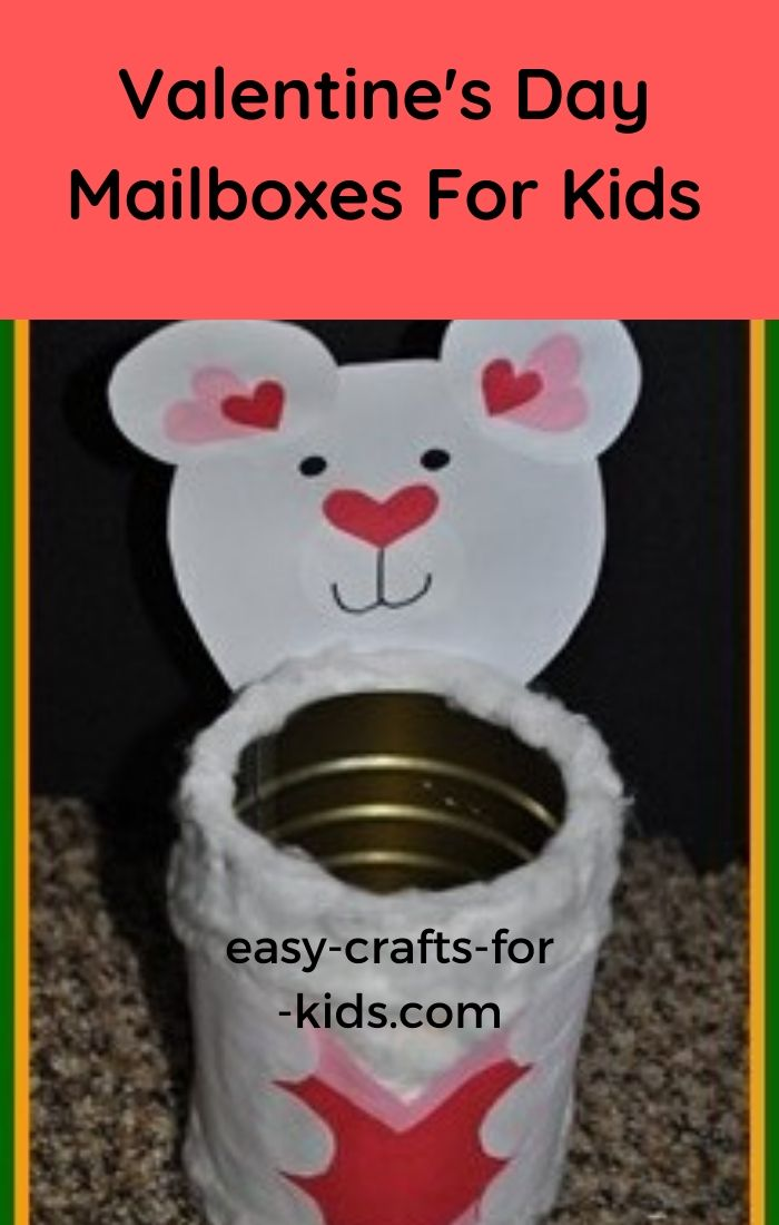valentine's day mailboxes for kids