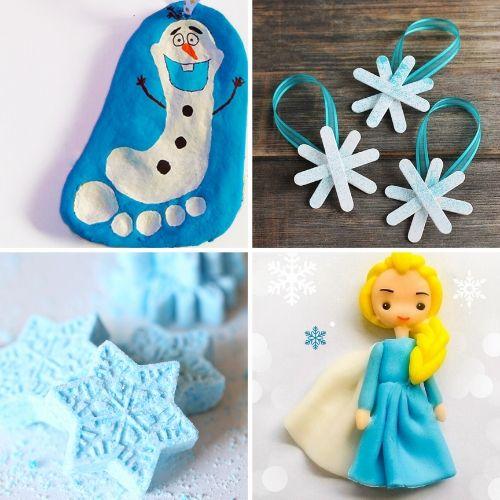 frozen elsa crafts