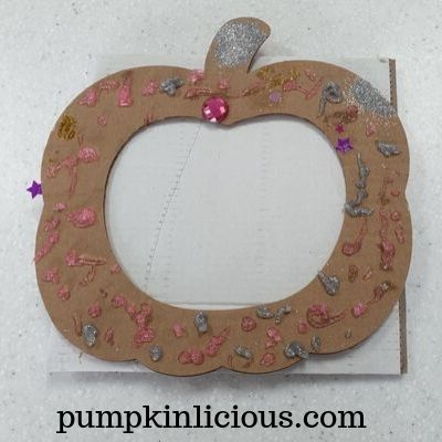 Pumpkin Wreath Fall Craft For Kids + Free Printable
