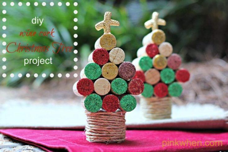 How to Make a Wine Cork Christmas Tree
