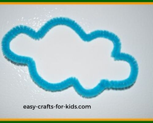 cloud spring magnet crafts