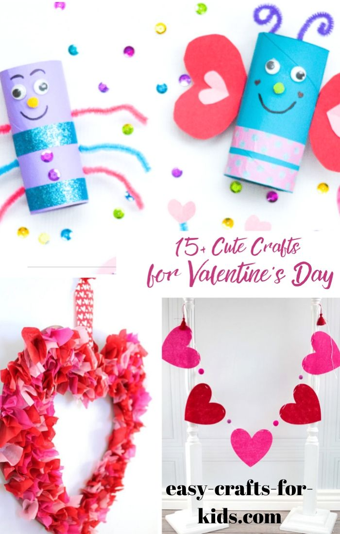 cute crafts for valentines day