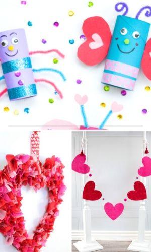 cute valentine day kids crafts