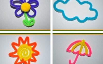 kids spring magnet crafts
