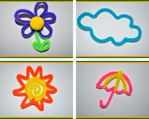 kids spring magnet crafts